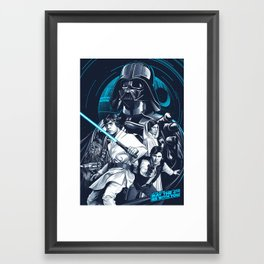 May the 4th be with you Framed Art Print