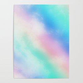 Rainbow Pastel Poster