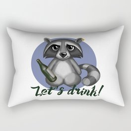 Let`s drink! Rectangular Pillow