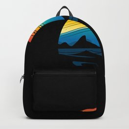 Scenic colorful space Backpack