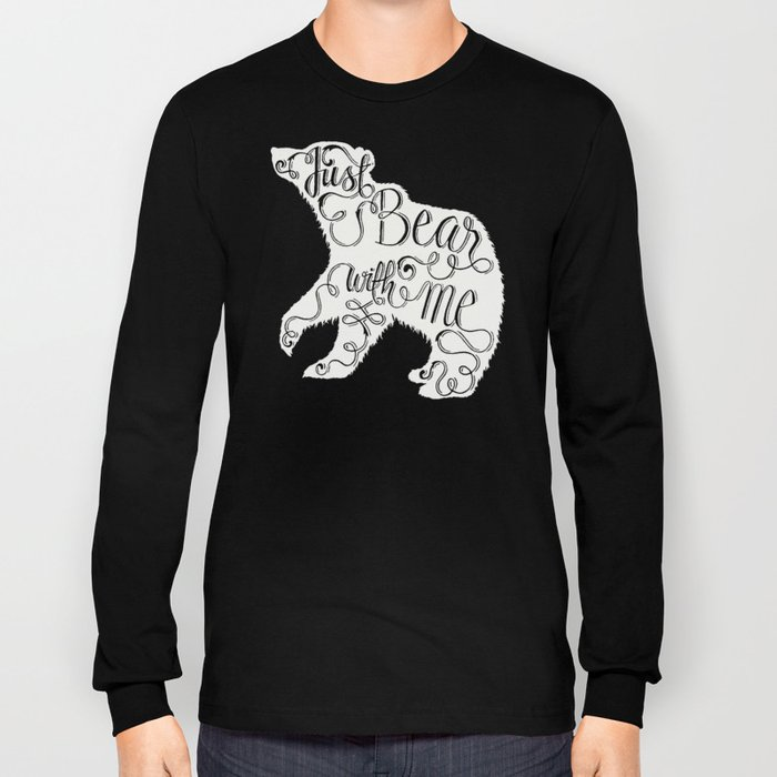 BEAR WITH ME - PINK Long Sleeve T-shirt