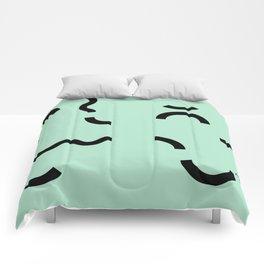 OY! green Funfetti Comforters