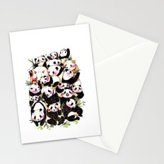 Wild Family Series - Afternoon Tea Panda Stationery Cards