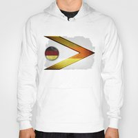 germany Hoodies featuring Germany by ilustrarte