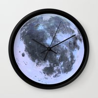 titan Wall Clocks featuring Titan #3 by Tobias Bowman