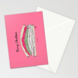 Festive Sandwich Leftovers Stationery Cards