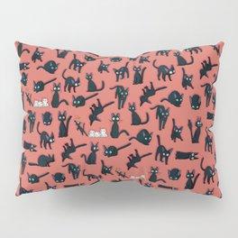 Jiji black cat kawaii Pillow Sham