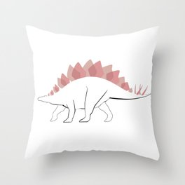 Stego Throw Pillow