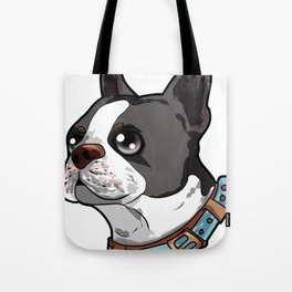 Boston Terrier Dog Tote Bag
