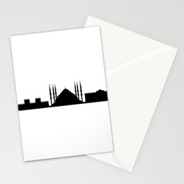 skyline istanbul Stationery Cards