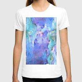 ESOTERIC AMETHYST CRYSTALS &  AQUAMARINE CRYSTALS T-shirt