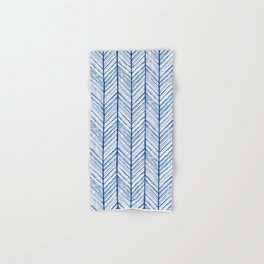 Shibori Herringbone Pattern Hand & Bath Towel