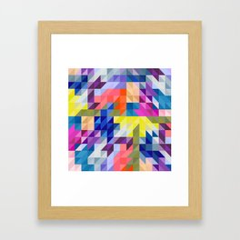 Background colour Framed Art Print