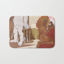 """Love This Giant"" by Virgina McCarthy Bath Mat"