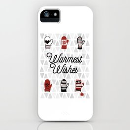 Warmest Wishes iPhone Case
