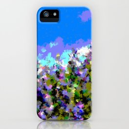 Lupines iPhone Case