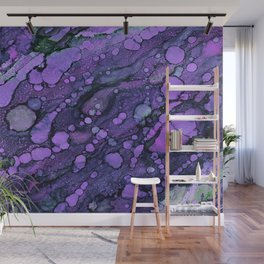 Purple River Wall Mural