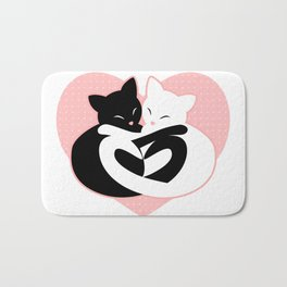 Balanced Feline Love Bath Mat