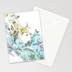 mon petit dejèune Stationery Cards