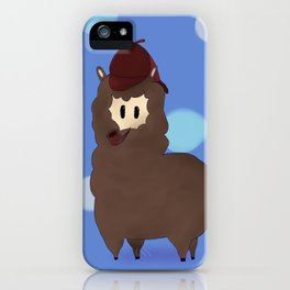 Sherlock Alpaga  iPhone Case
