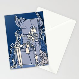 The Skeleton King Stationery Cards