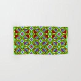 Patterned-beans-pattern 1 Hand & Bath Towel