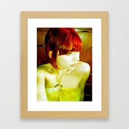 Cornflake Girl Framed Art Print
