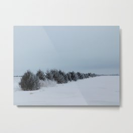 Winter Landscape No.17 Metal Print