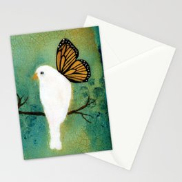 Butterfly Doves Stationery Cards