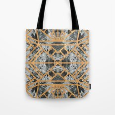 Marble Deco Shade Two Tote Bag