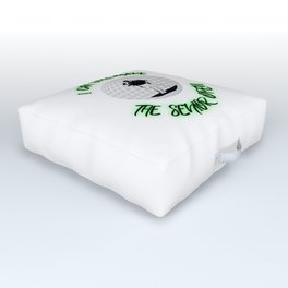 Great Golf apparel, shirt, gift Outdoor Floor Cushion