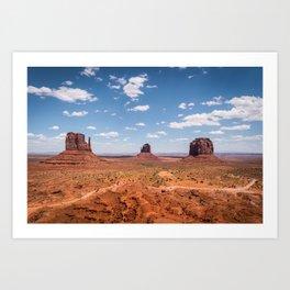Monument Valley, Utah Art Print