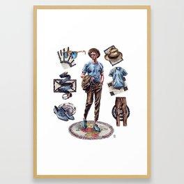Italian Style. Framed Art Print
