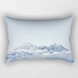 wall of ice Rectangular Pillow