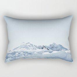 wall of ice Rectangular Pillow