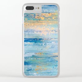 Beach Days Clear iPhone Case