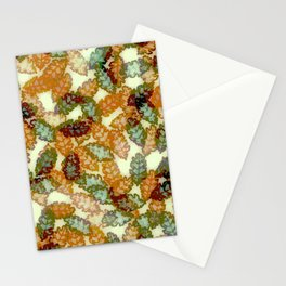 Oak Leaves Fall Stationery Cards