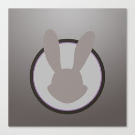 Judy Hopps Minimal Canvas Print