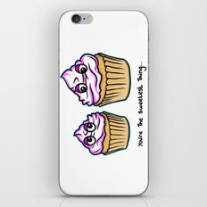 Mothers Day - You're the sweetest thing - Cupcakes iPhone & iPod Skin