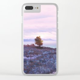 Pastel vibes 76 Clear iPhone Case