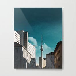 TV Tower, Berlin Metal Print