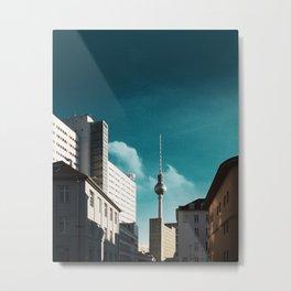 TV Tower, Berlin Metal Print