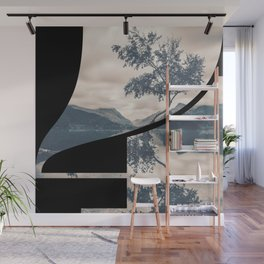 Nr. 4 | Numbers with a View | Typography Letter Art Wall Mural