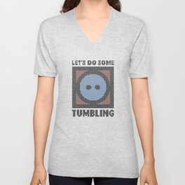 Let's Do Some Tumbling Unisex V-Neck