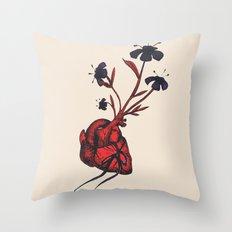 Love Grows Throw Pillow
