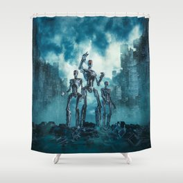 The Patrol Shower Curtain