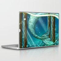 teeth Laptop & iPad Skins featuring Teeth by laya rose