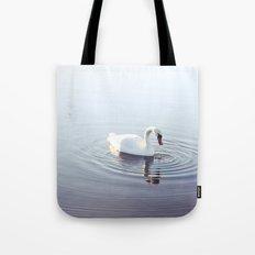 the beautiful swan Tote Bag