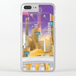 City in the Desert Clear iPhone Case