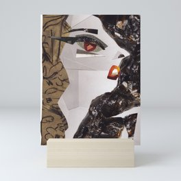Lady Ga Ga #PrideMonth Collage Portrait Mini Art Print